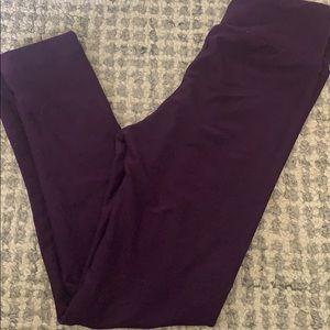Solid purple kids Lularoe leggings! New!